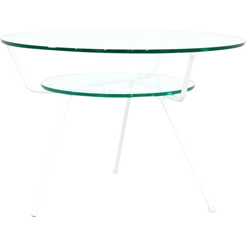 Vintage coffee table by WH Gispen for Kembo, 1950