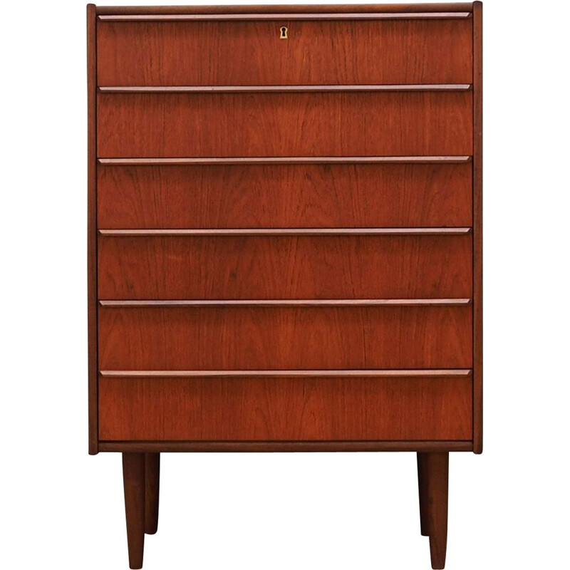 Vintage teak Chest of Drawers by Hanbjerg Mobelfabrik, 1960s