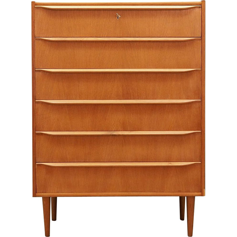 Vintage chest of drawers in ash, Denmark, 1960s