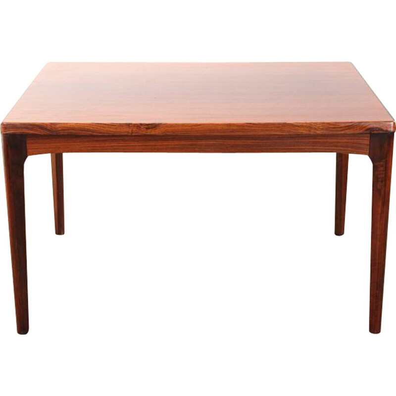 Vintage Scandinavian rosewood dining table