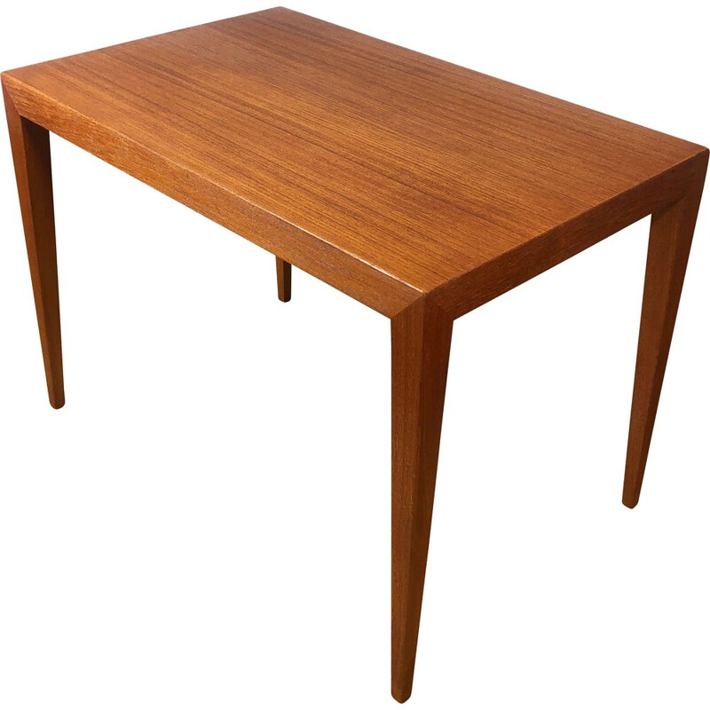 Vintage teak coffee table by Severin Hansen, 1960