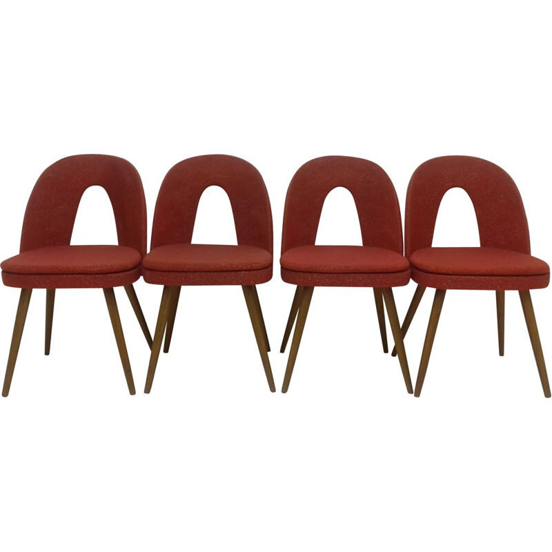 Set of 4 dining chairs by Antonín Šuman, 1960s