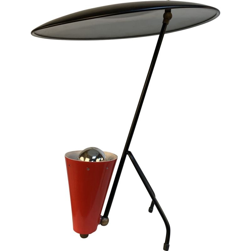 Vintage lamp with indirect lighting, Italy1980