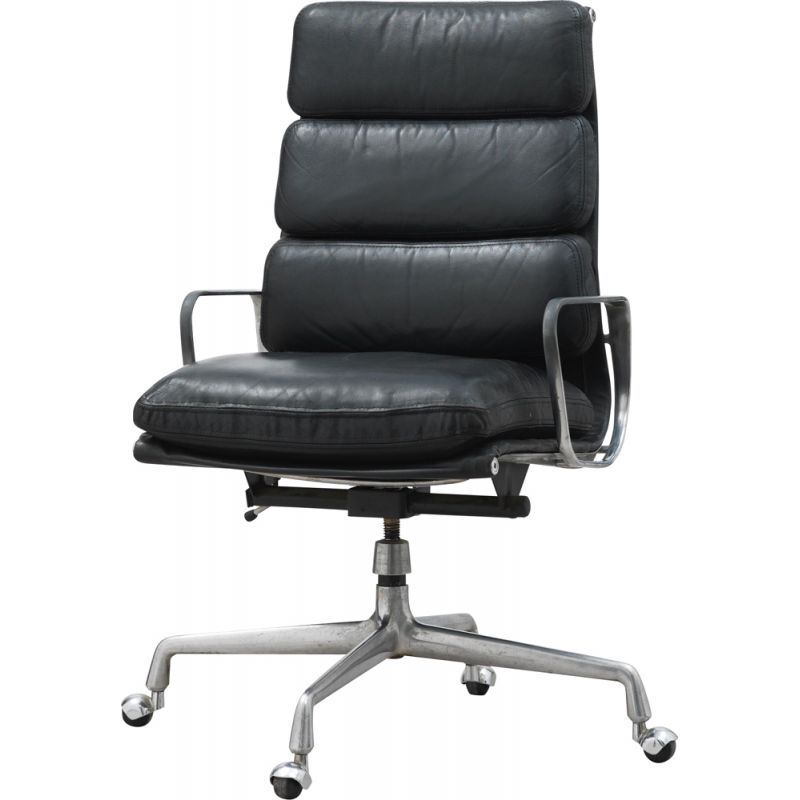 EA 219 vintage swivel and tilt armchair by Ray and Charles Eames for Herman Miller