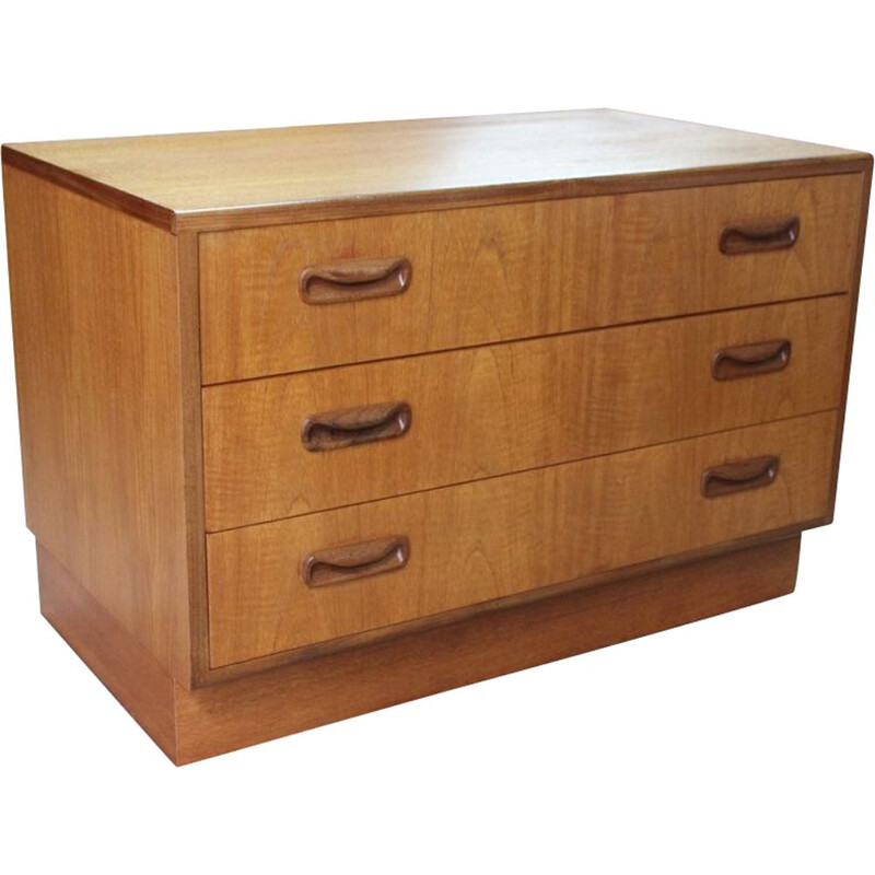 Vintage teak and afromosia chest of drawers by VB Wilkins for G-PLAN