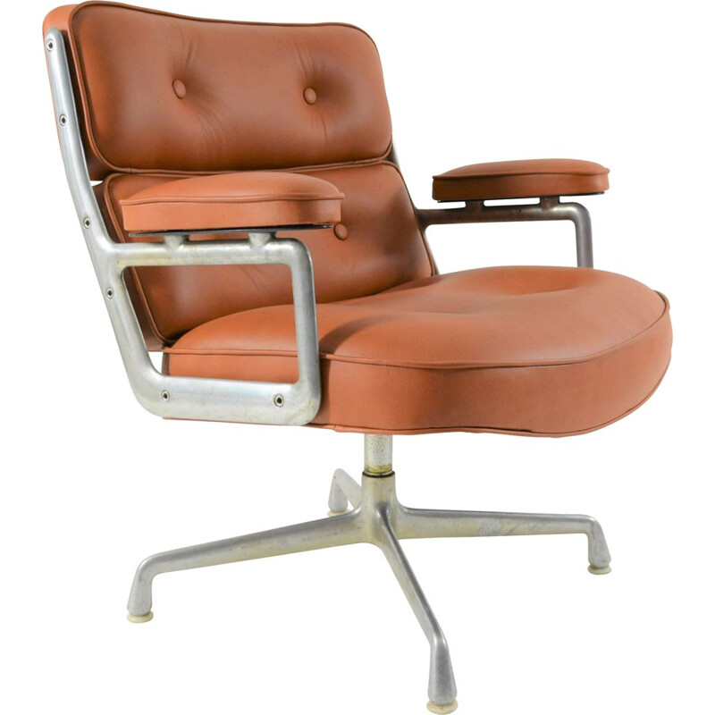 Vintage Lobby Chair ES 105 by Charles & Ray Eames, 1960