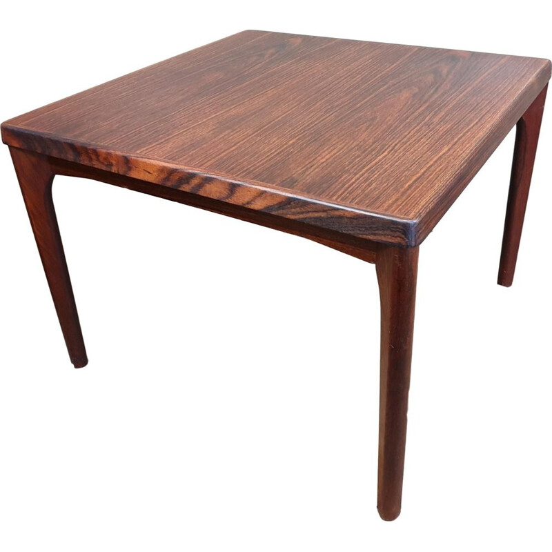 Vintage rosewood coffee table by Henning Kjærnulf for Vejle Mobelfabrik