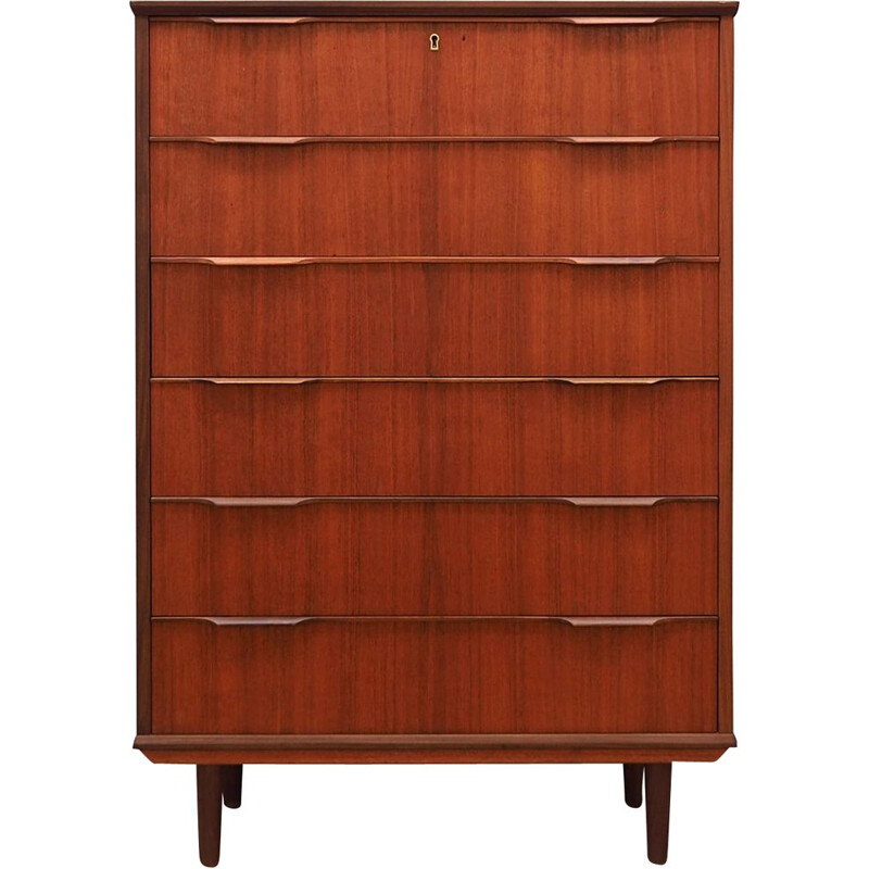 Danish vintage chest of drawers, 1970