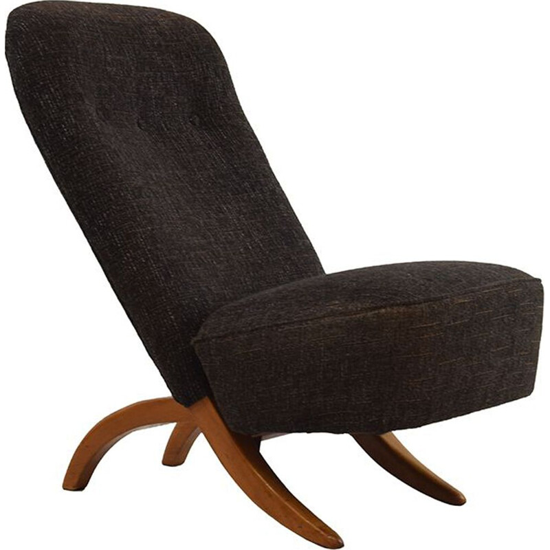 Vintage armchair Congo by Theo Ruth for Artifort, 1950s