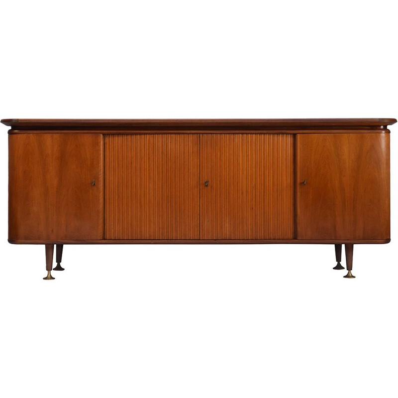 Walnut vintage sideboard by A. A. Patijn for Zijlstra Joure, 1950s