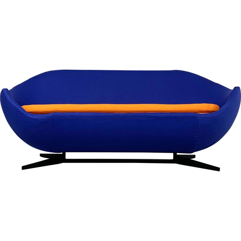 """Vintage """"Globe Series"""" Sofa by Pierre Guariche for Meurop, 1960s"""