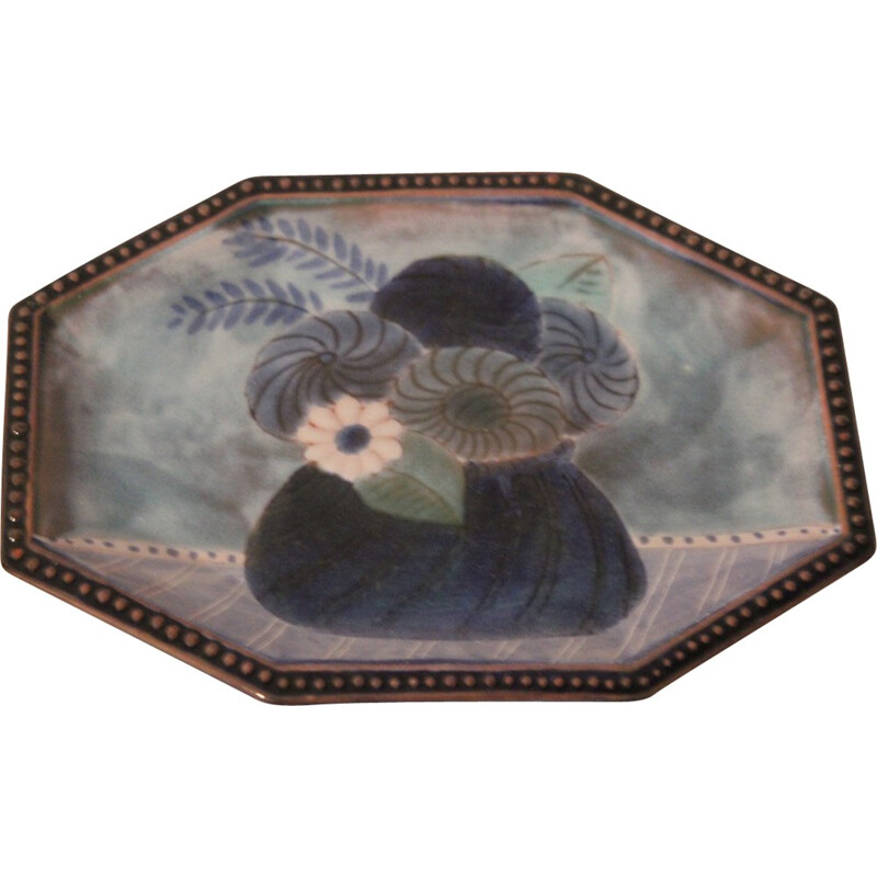 Coin tray in ceramic, Robert & Jean CLOUTIER - 1970S
