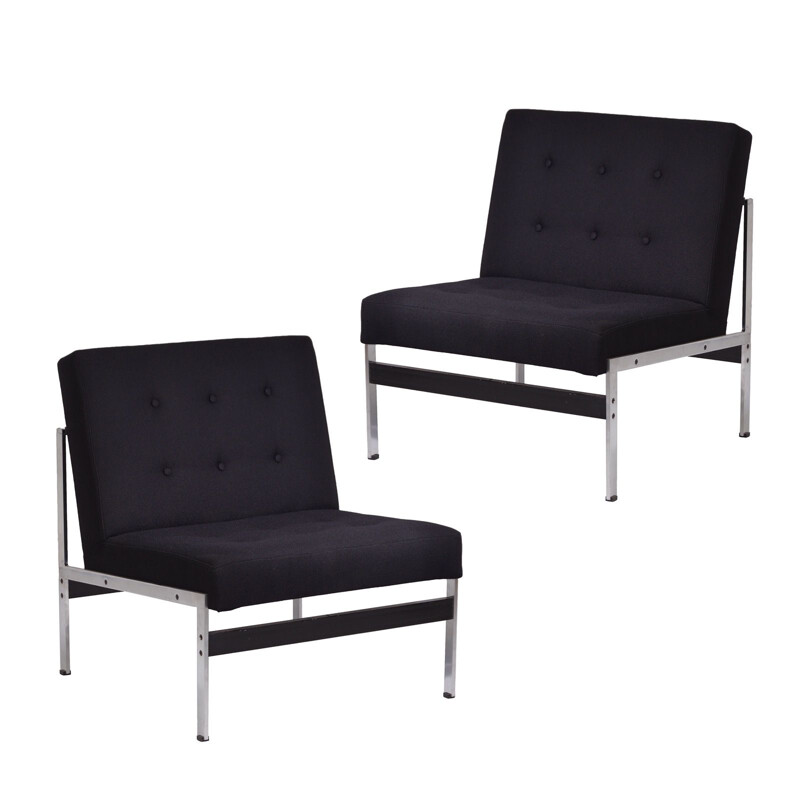 Set of two easy chairs by Kho Liang Ie for Artifort - 1950s