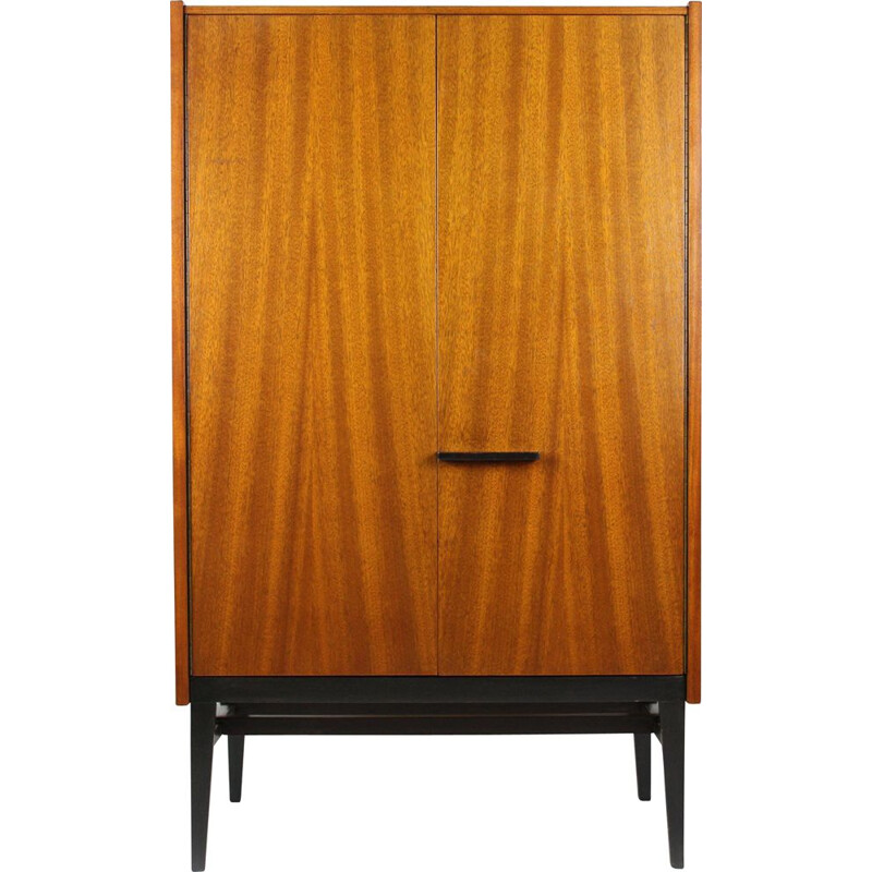 Vintage Small Wardrobe by Frantisek Mezulanik for UP Bucovice, 1960s