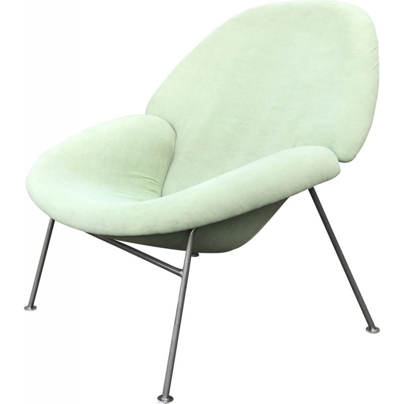 Vintage F555 space age lounge chair by Pierre Paulin for Artifort 1960s