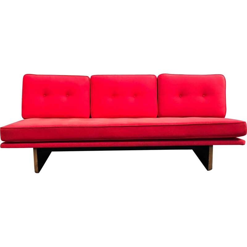 Vintage C671 3-seater sofa by Kho Liang Le for Artifort 1960s