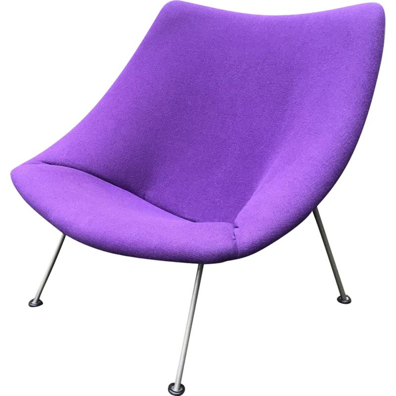 Vintage F157 Oyster Chair by Pierre Paulin for Artifort 1970