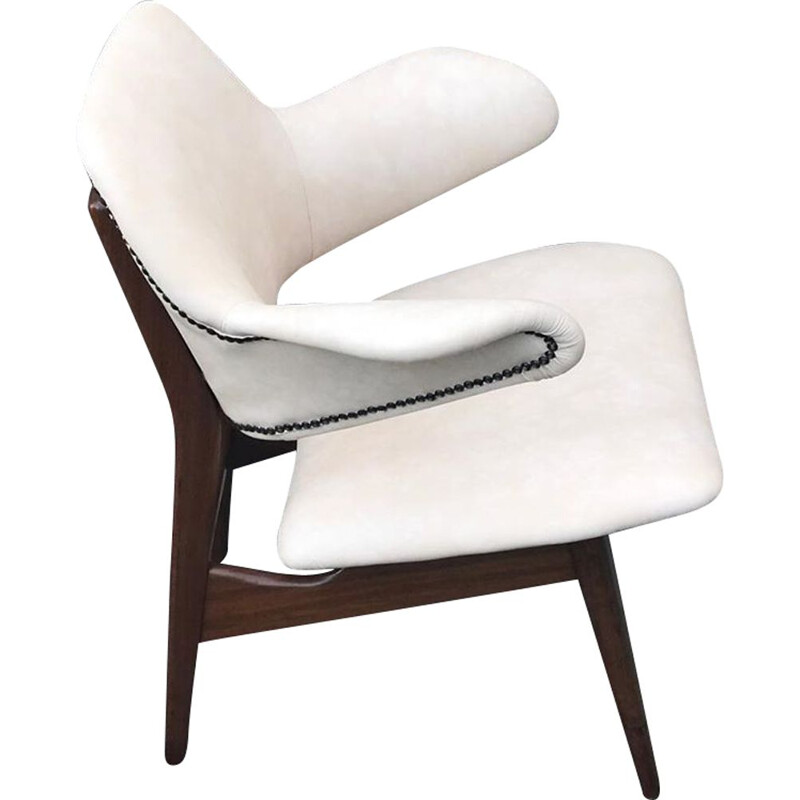Vintage Pinguïn armchair by Louis van Teeffelen for WéBé 1950
