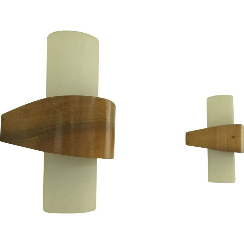 Pair of Scandinavian Sconces by Louis C. Kalff for Philips, 1950s