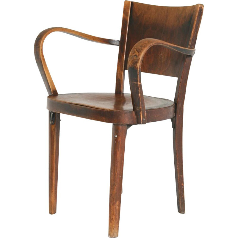 Vintage Bentwood B47 armchair from Thonet, 1920