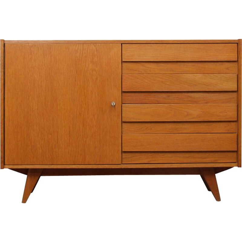 Vintage chest of drawers by Jiri Jiroutek, 1960