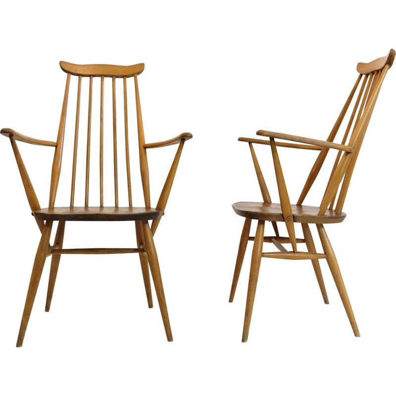 Ercol vintage armchair, model Goldsmith