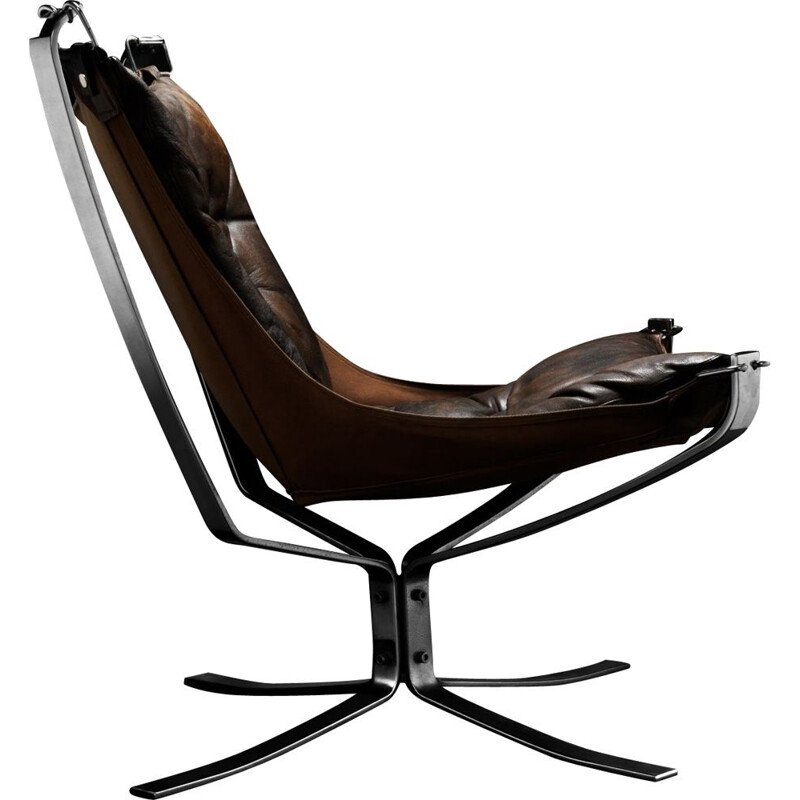 Falcon Chair by Sigurd Ressel for Vatne Møbler 1970