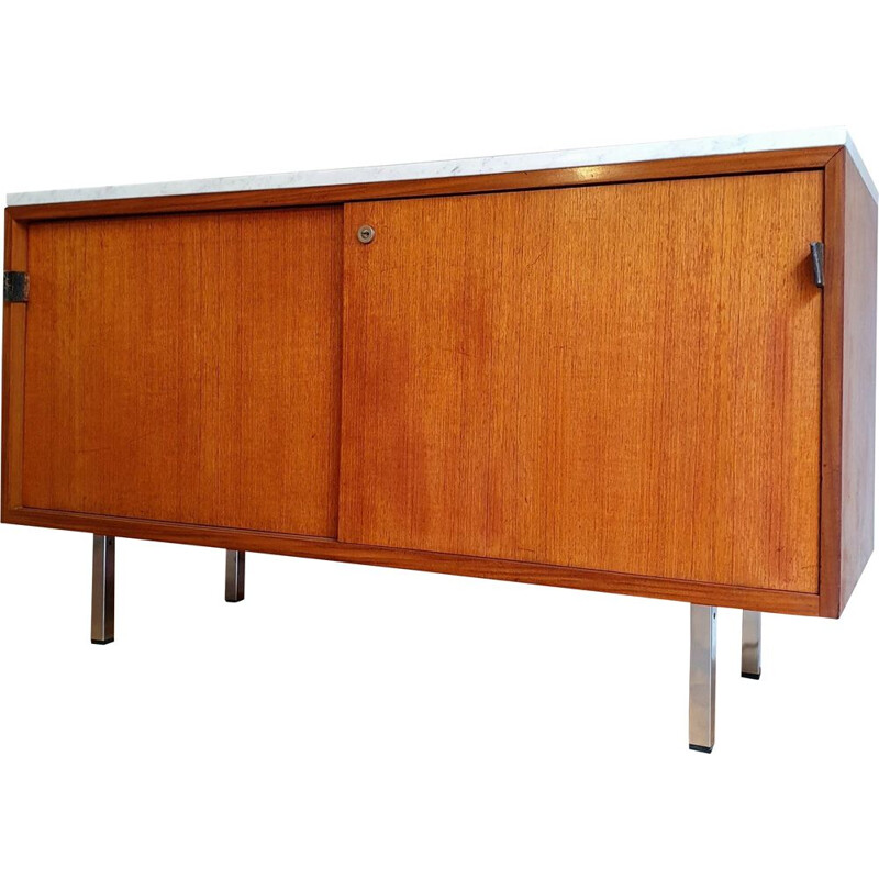 Buffet Florence Knoll - Edition Knoll - Teck & Marbre - 1960