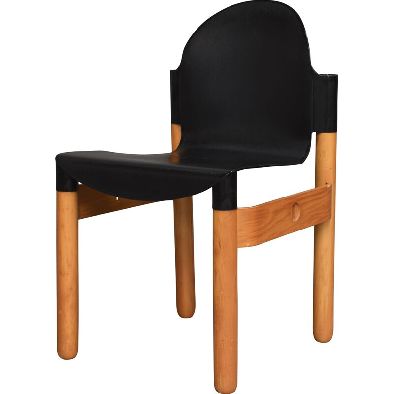 Vintage thonet chair by gerd lange, west-germany 1973