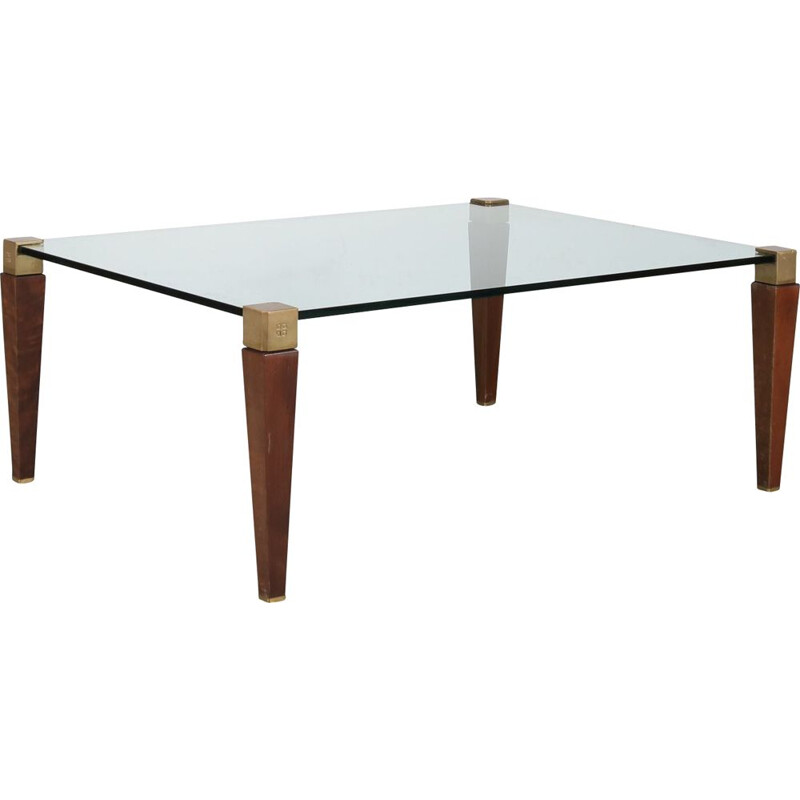 Vintage Dutch coffee table by Peter Ghyczy for Ghyczy, Netherlands 1970
