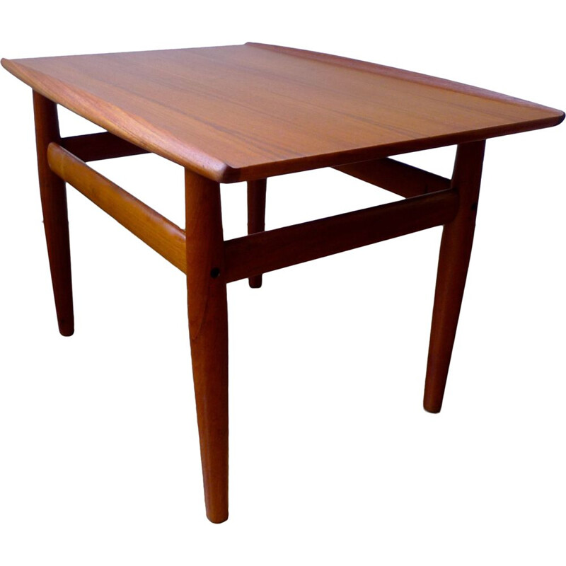 Vintage Danish Coffee Table by Grete Jalk for Glostrup Møbelfabrik, 1960