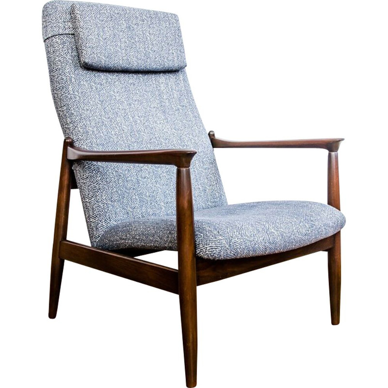 Model GFM-64 vintage armchair by Edmund Homa for GFM, 1960s