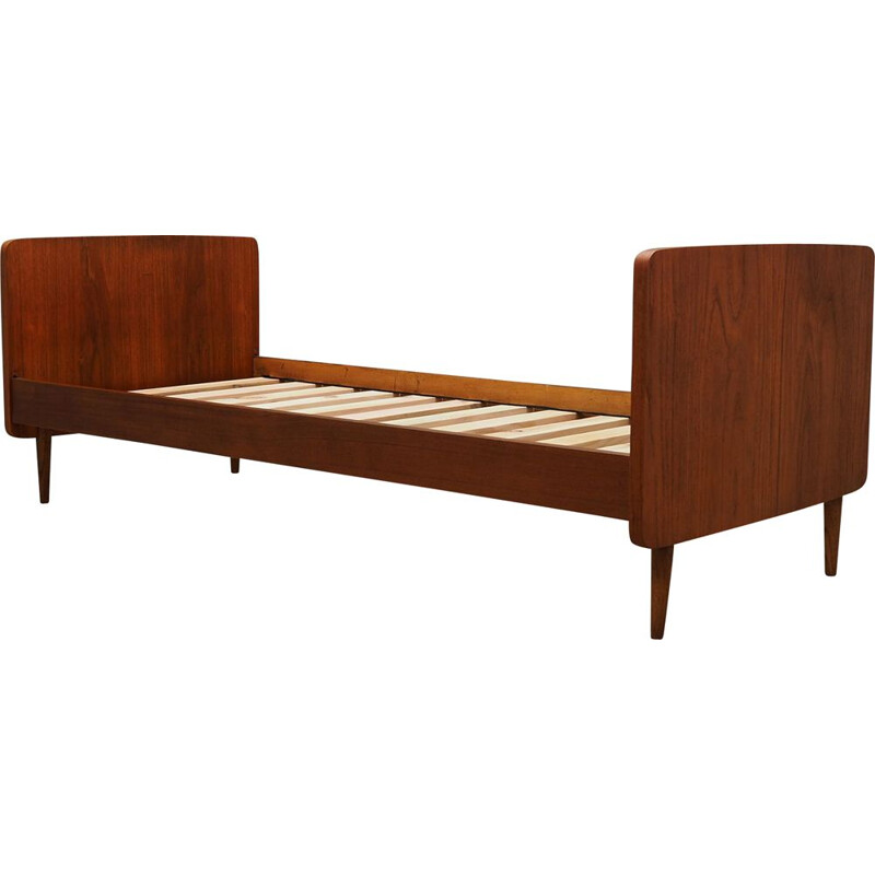 Teak vintage bed frame by Sino, 1970s