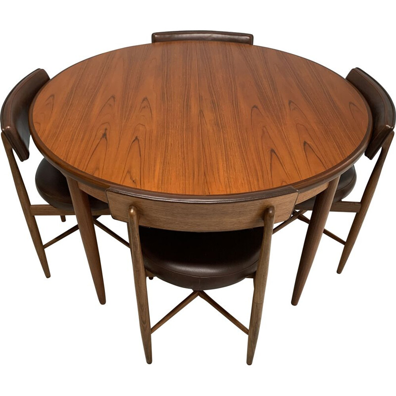Vintage dining set in wood by G-Plan, 1960s