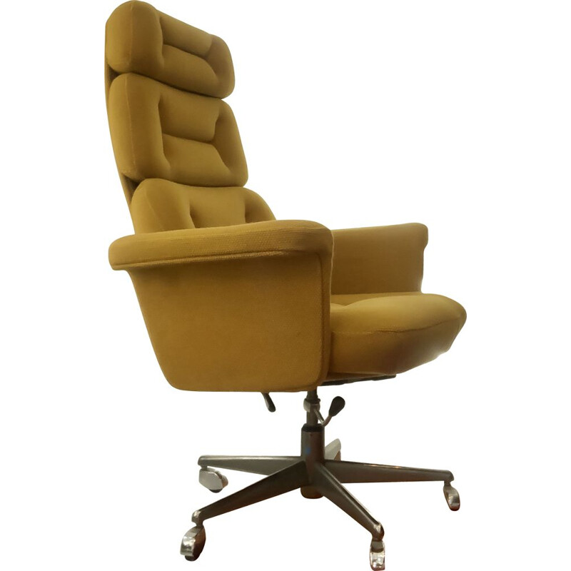 Vintage reclining office chair, Germany, 1970s