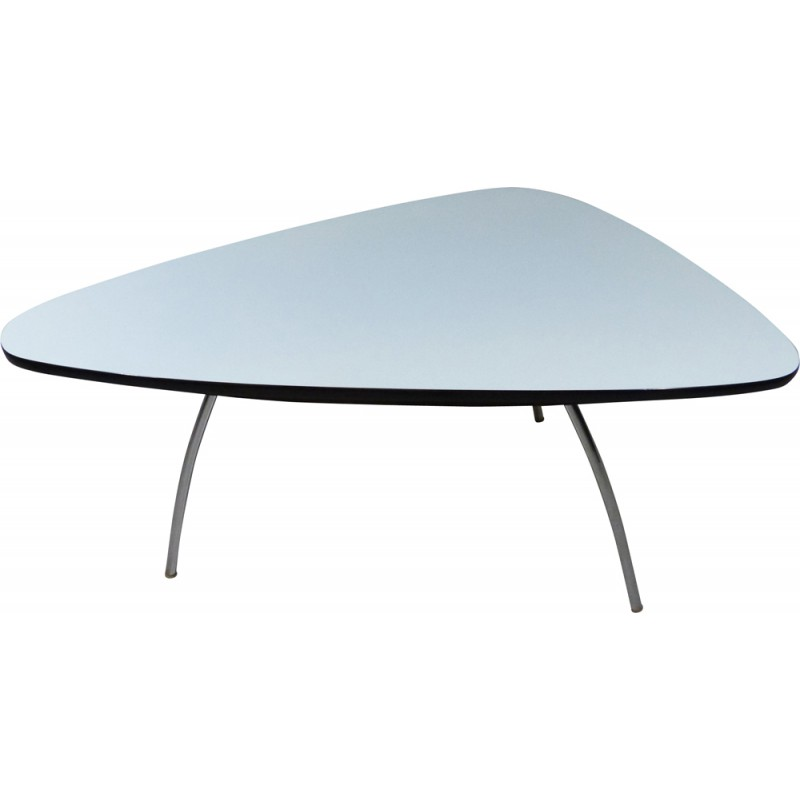Mauser German Coffee Table In White Formica 1950s Design Market