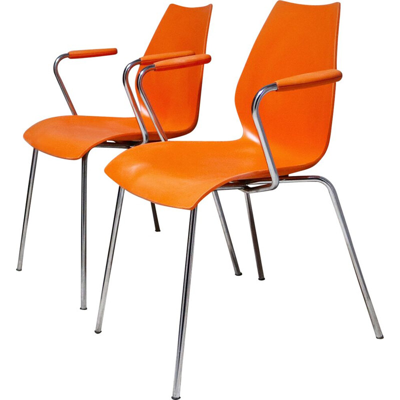 """Vintage """"Maui"""" chair by Magistretti for Kartell, Italy, 1980s"""