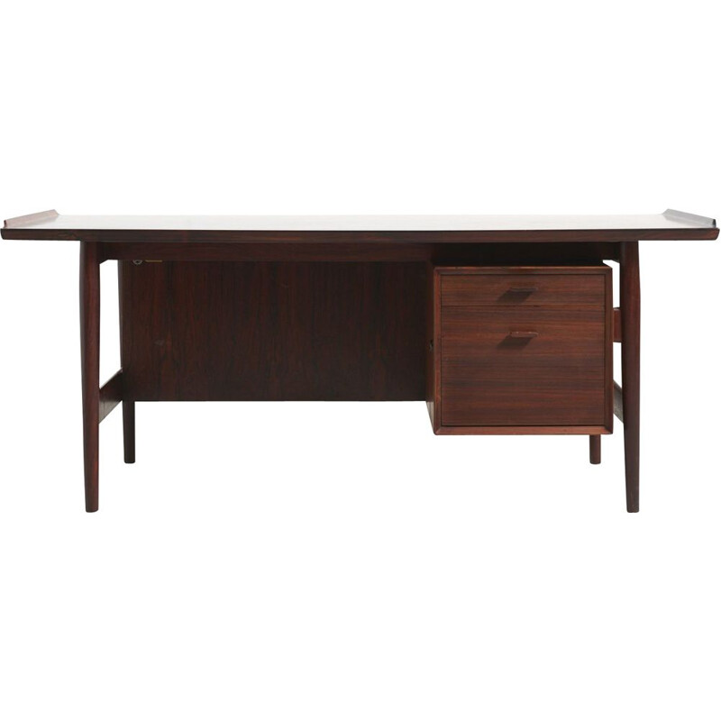 Vintage desk by Arne Vodder in rosewood