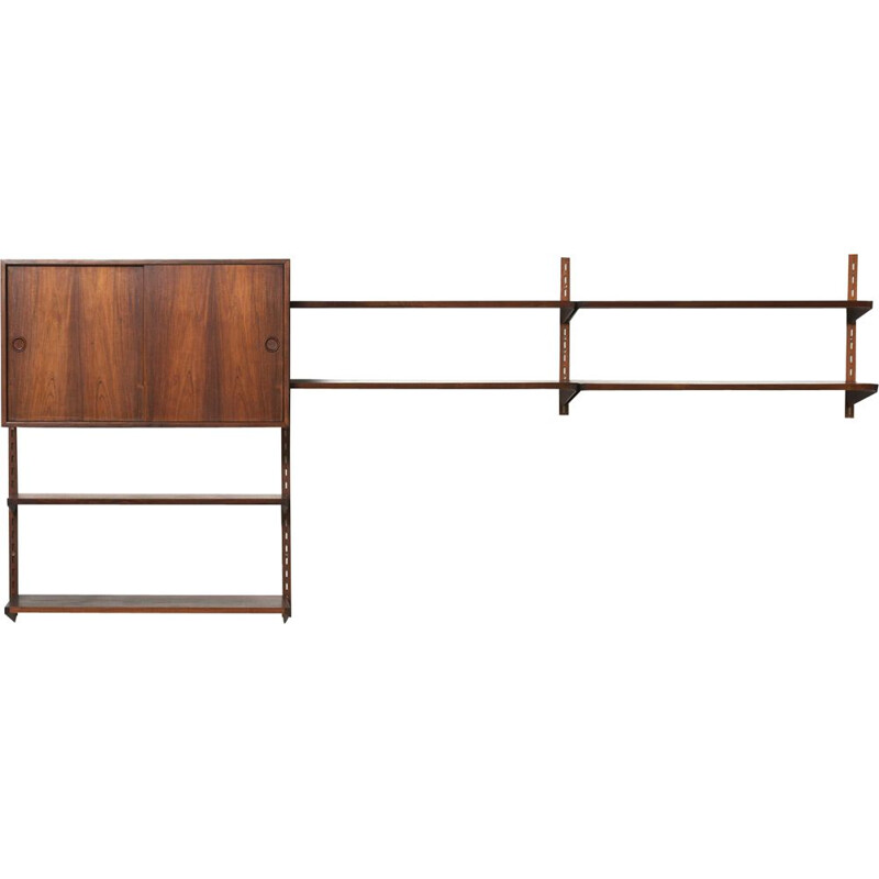Vintage FM Wall Unit in rosewood by Kai Kristiansen