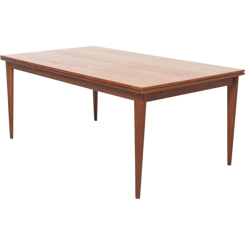 Vintage danish dining table by by Niels O. Møller