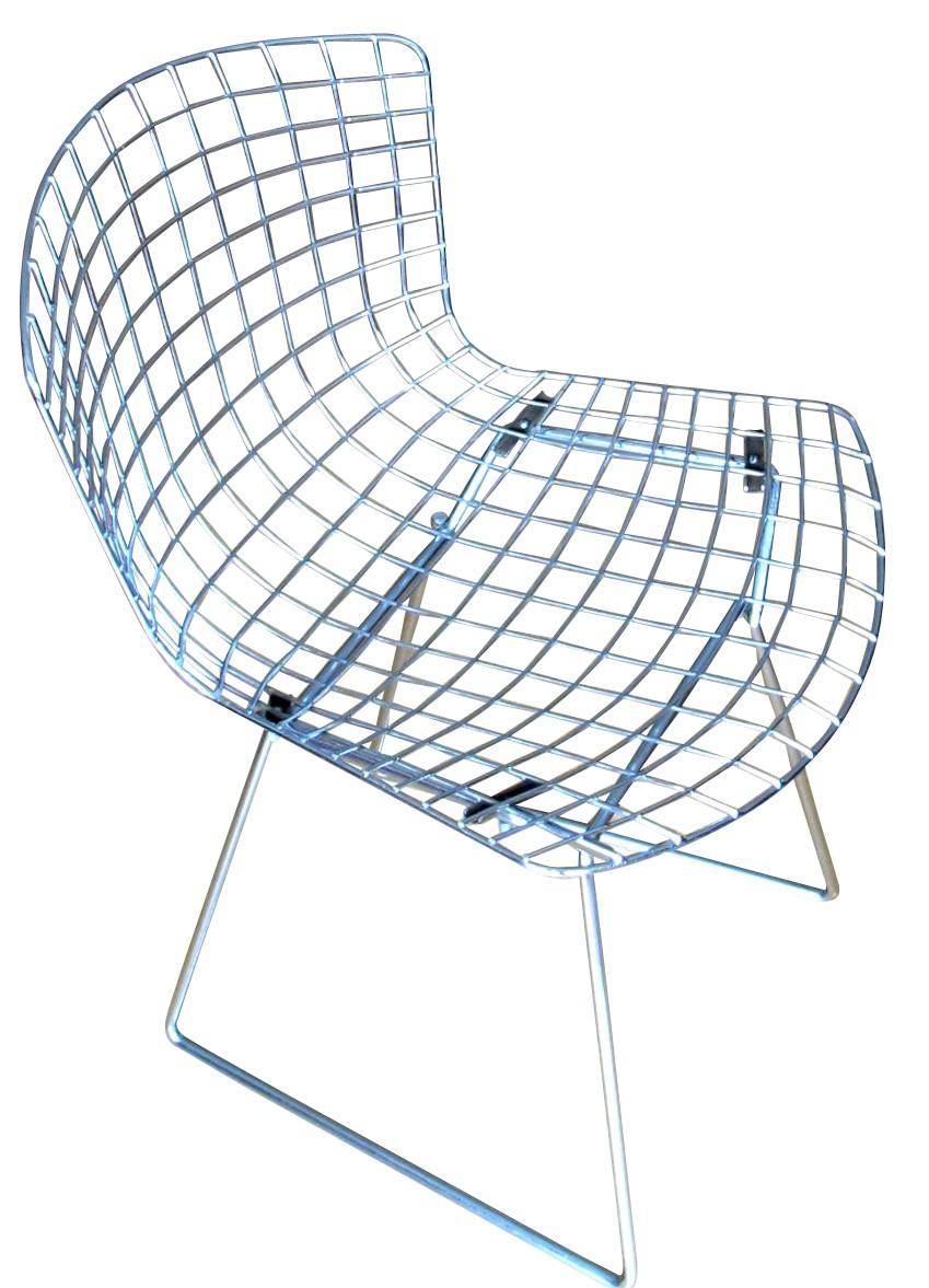 Metal chair, Harry BERTOIA - 7