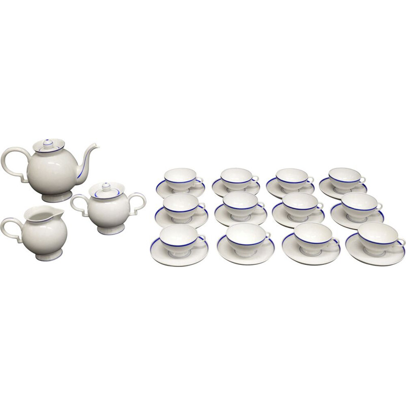 Vintage Tea Set model Barbara by Gio Ponti for Richard Ginori 1930