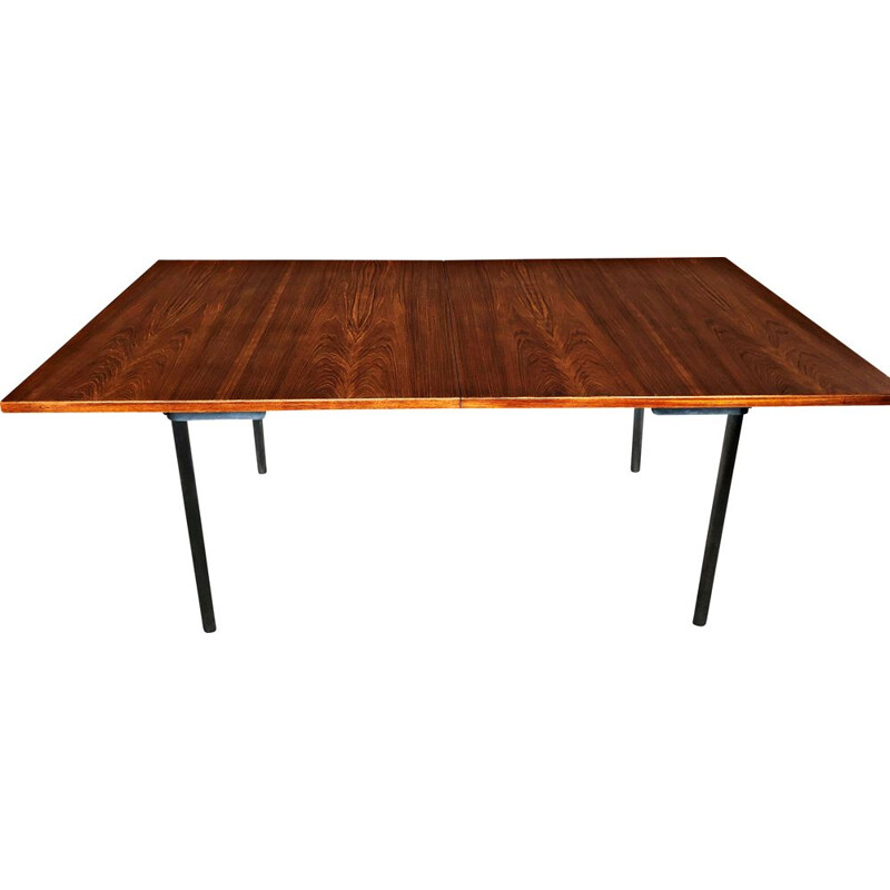 Vintage Extension Dining Table in Teak by Hans Wegner for Andreas Tuck
