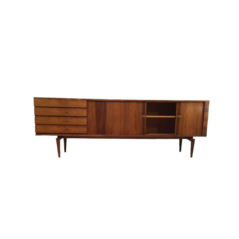 Vintage Danish Sideboard in Rosewood by H.W. Klein 1960s
