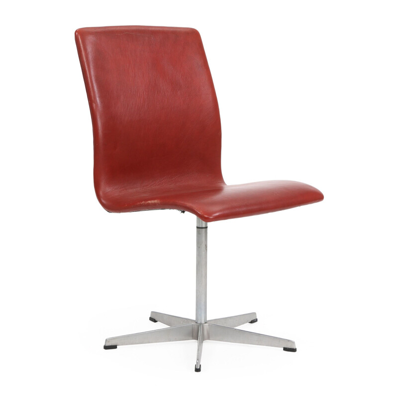 "Arne Jacobsen ""Oxford"" vintage chair by Fritz Hansen, 1965"