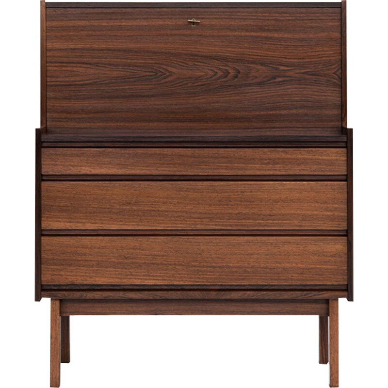Vintage Danish secretaire in rosewood, 1960s