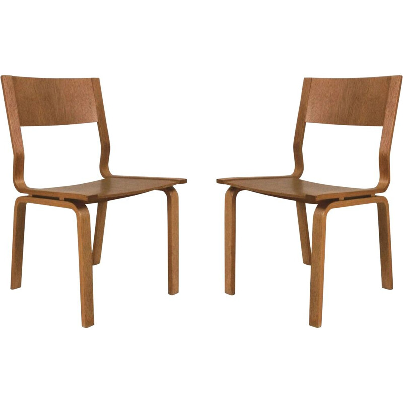 Set of 2 vintage Saint Cathrines chairs by Arne Jacobsen, 1965s