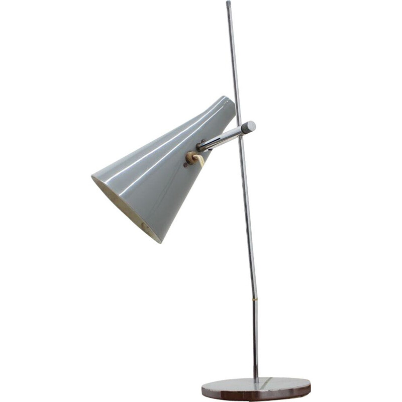 Vintage table lamp by Josef Hurka for Lidokov, Czechoslovakia, 1960