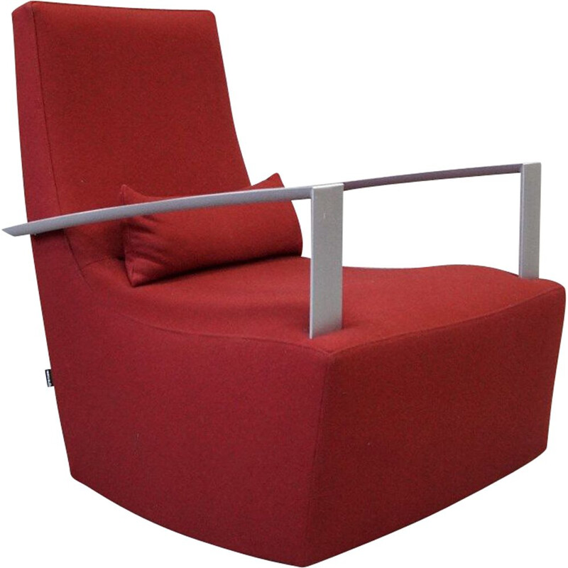Vintage rocking chair by Alban-Sebastien Gilles for Ligne Roset, 1990s
