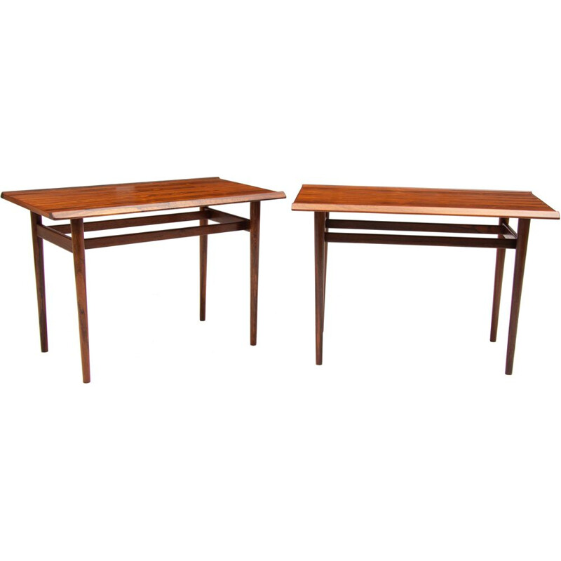 Mid century rosewood tables by Arne Vodder